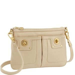 Marc by Marc Jacobs 'Percy' white crossbody purse